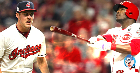 The Cleveland Indians Trade Starting Pitcher Trevor Bauer to the Cincinnati Reds for Yasiel Puig