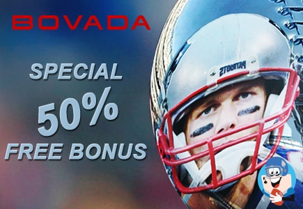 Get A 50% Free Bonus On Football Bets at Bovada