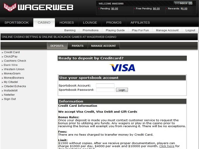 Wagerweb Bank