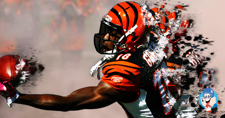 Wide Receiver A.J. Green of the Cincinnati Bengals was Carted off the Field during First Practice
