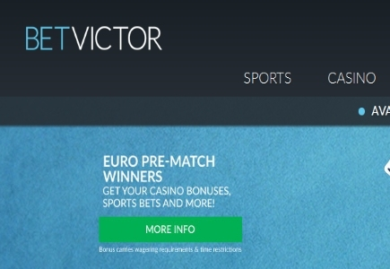 BetVictor's Euro Pre Match Action Begins