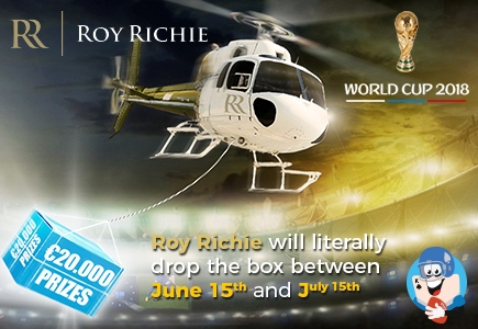 Win $20K In Prizes On Roy Richie During World Cup