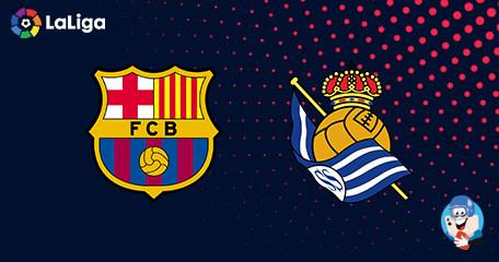 LaLiga: Barcelona vs Real Sociedad preview